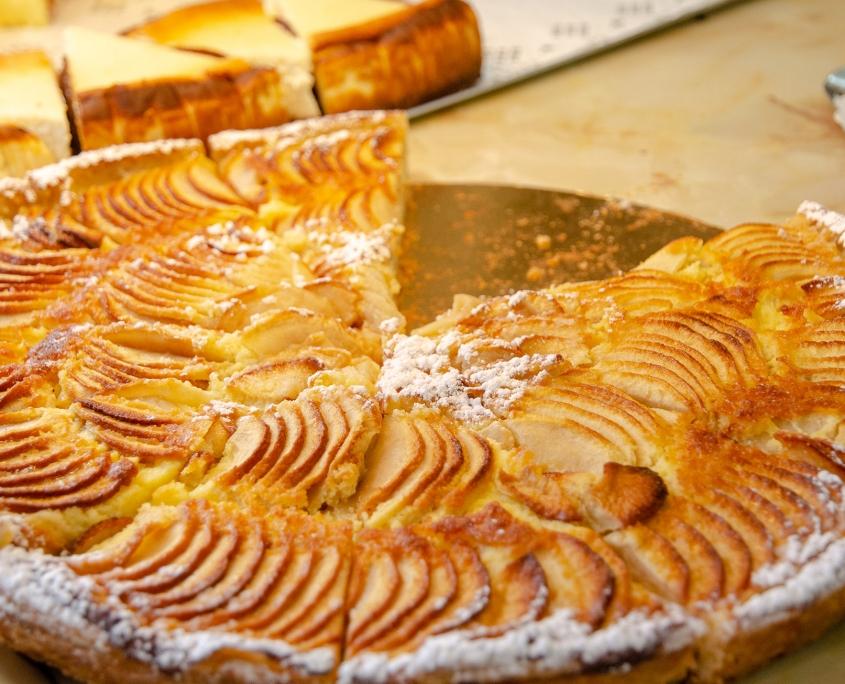 Tarte aux pommes - Boulangerie Blavette Aurélien-Delphine - Issy-les-Moulineaux