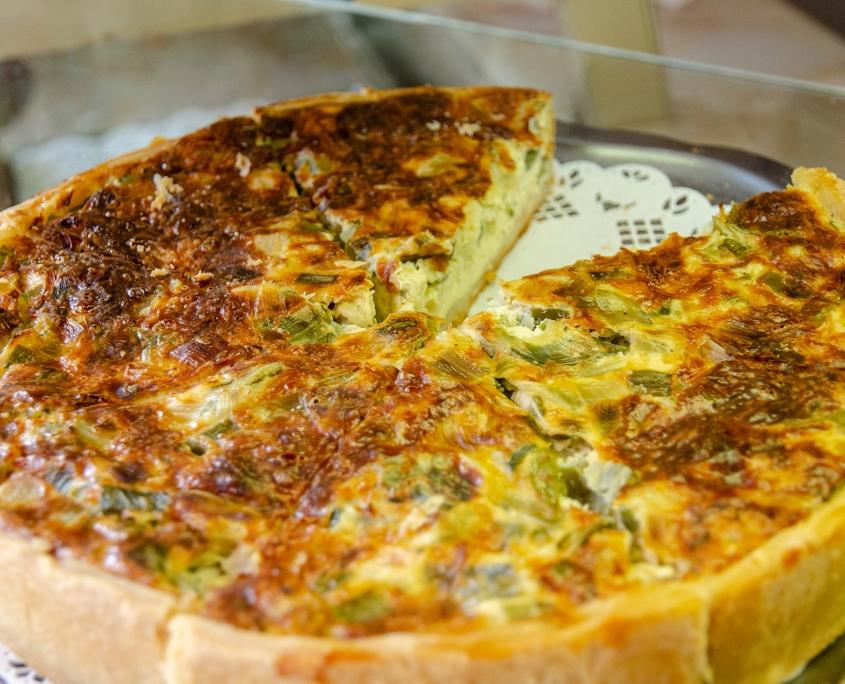 Tourte aux poireaux - Boulangerie Blavette Aurélien-Delphine - Issy-les-Moulineaux