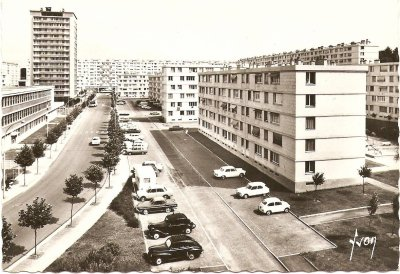 Quartier de la Soie-Vauban à Beauvais dans les années 60