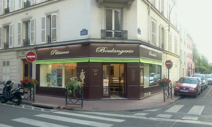 La boulangerie d'Emilien et Nathalie Blavette à Saint-Mandé (94)