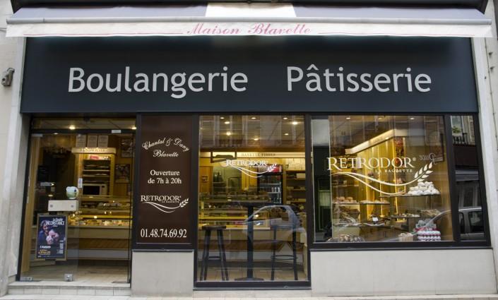 Paris 9e - Facade de la Boulangerie Blavette